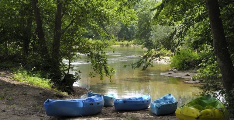 Superbe aventure en canoé sur le Loing