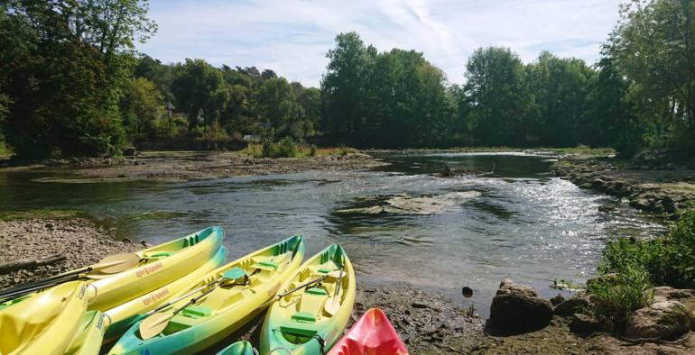 Superbe aventure en canoë sur le Loing