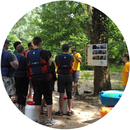 briefing canoe kayak explication avant embarcation
